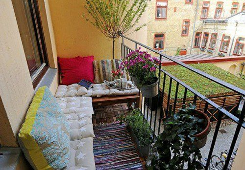 19 Originelle Ideen Fur Einen Gemutlichen Balkon Balkon Balkon