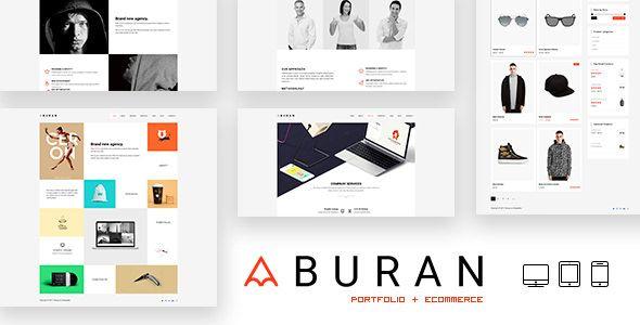 BURAN v2.0.0 Creative Portfolio and Business WordPress Theme Blogger ...