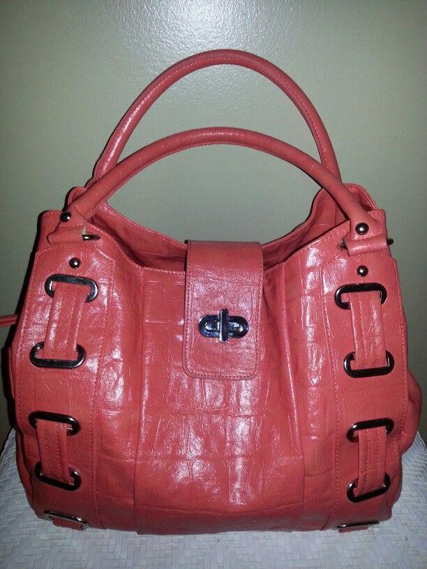 new bag from charming charlie coral cute handbag purse