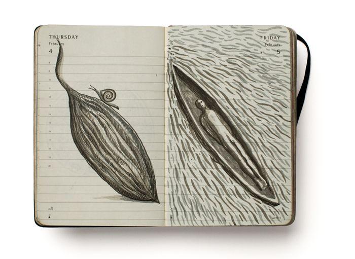 Libretas De Dibujo De Un Artista Freelance: Cuadernistas: Pep Carrió 2010