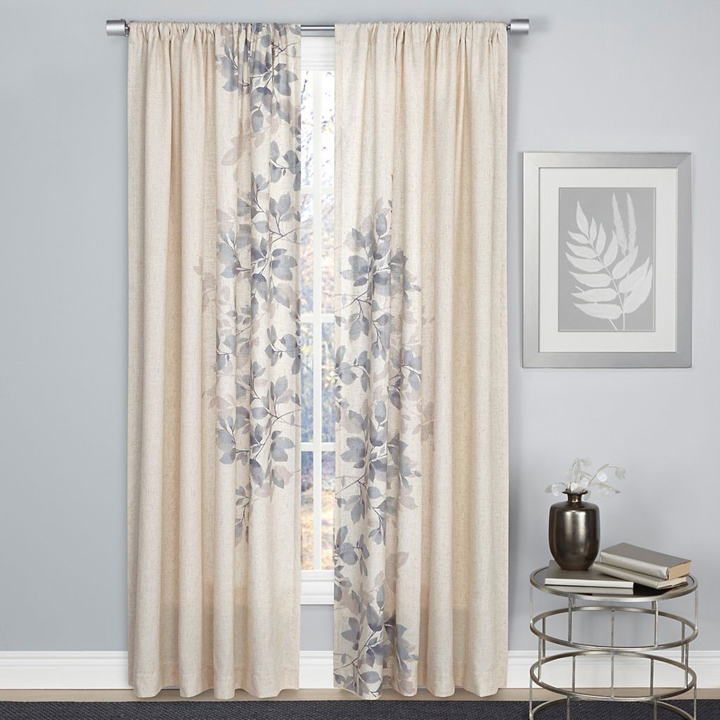 1888 Mills Hamilton Leaf Curtain