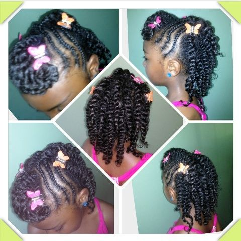 Brilliant 1000 Images About Kids Hairstyles On Pinterest Natural Short Hairstyles For Black Women Fulllsitofus