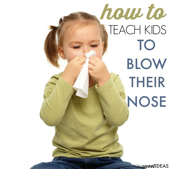 Tips to Help Kids Learn How to Blow Their Nose - The OT ...