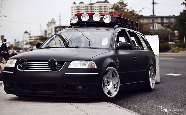 Black Monster Vwpassat3bg Volkswagen Passat Future