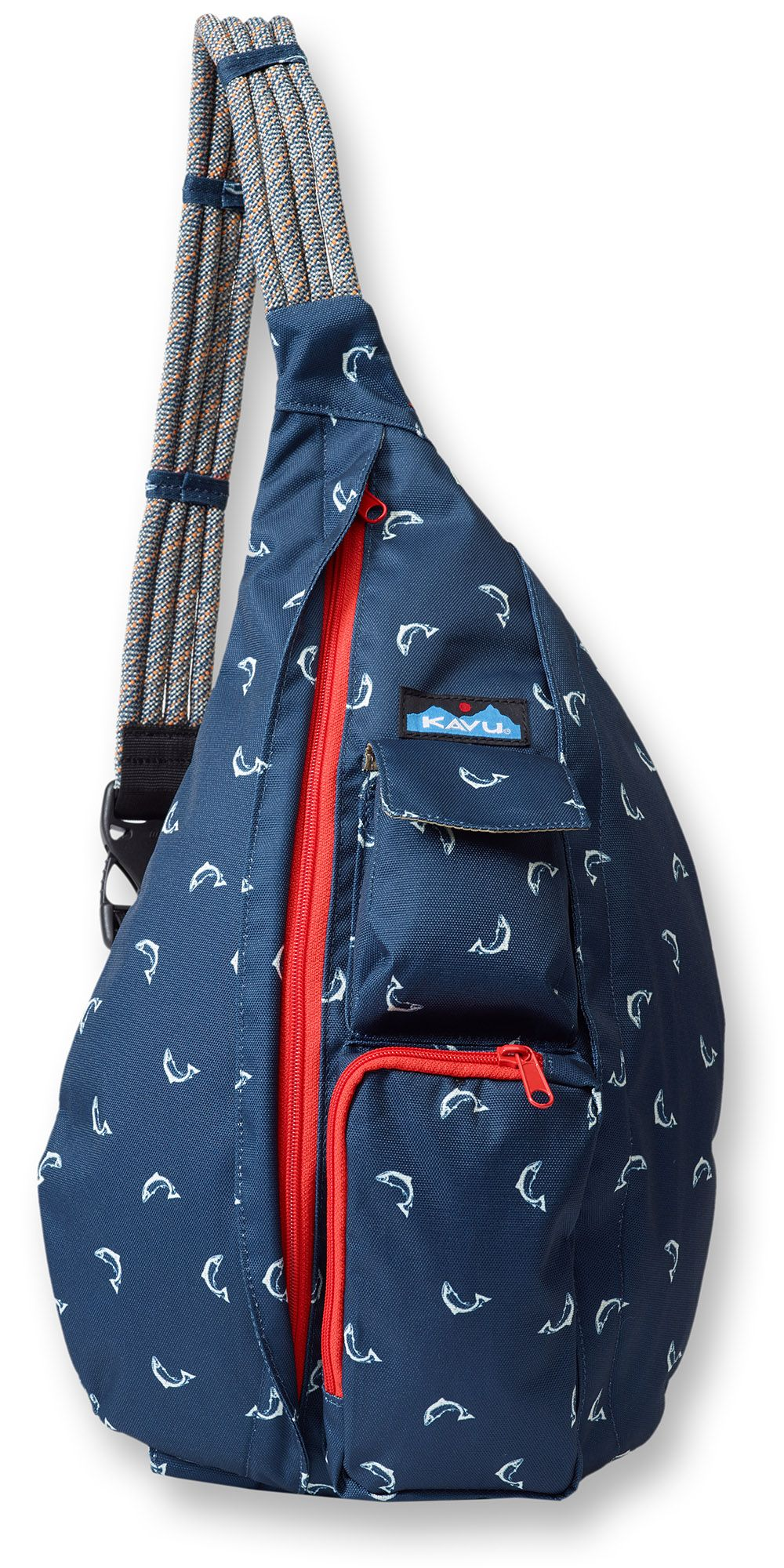 Kavu Rope Sling - Fly Fish. The Sling Bag fit the body like a bag ...