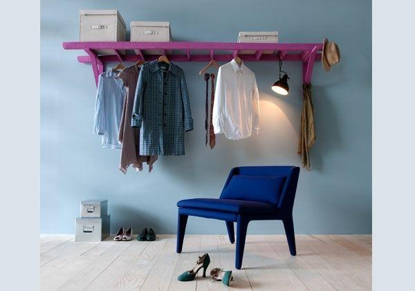 Nice Schaffen Sie Akzente in Ihrem Interieur wir bieten Ihnen frische Design Ideen wie Sie durch selbstgebaute Kleiderst nder den Kleiderschrank im S