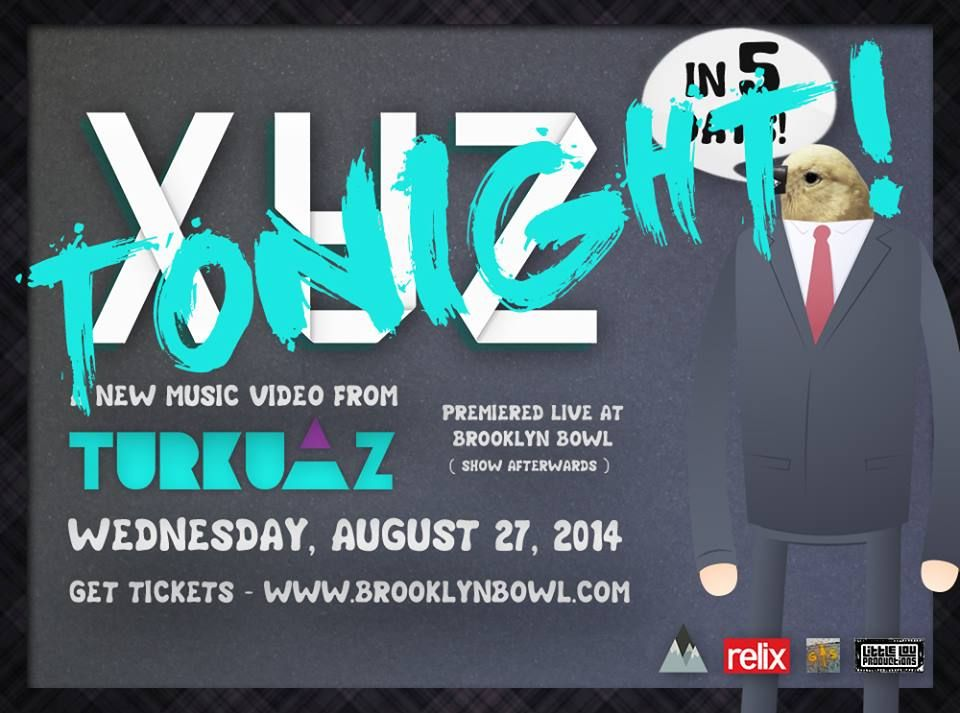 Stream Turkuaz from the Brooklyn Bowl Tonight : Articles : Relix