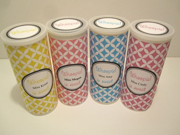 Personalized Teacher Gift - {Recycled Crystal Light Container ...