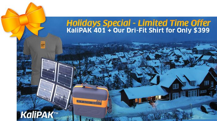 KaliPAK is a portable, renewable energy generator by Kalisaya — Kickstarter