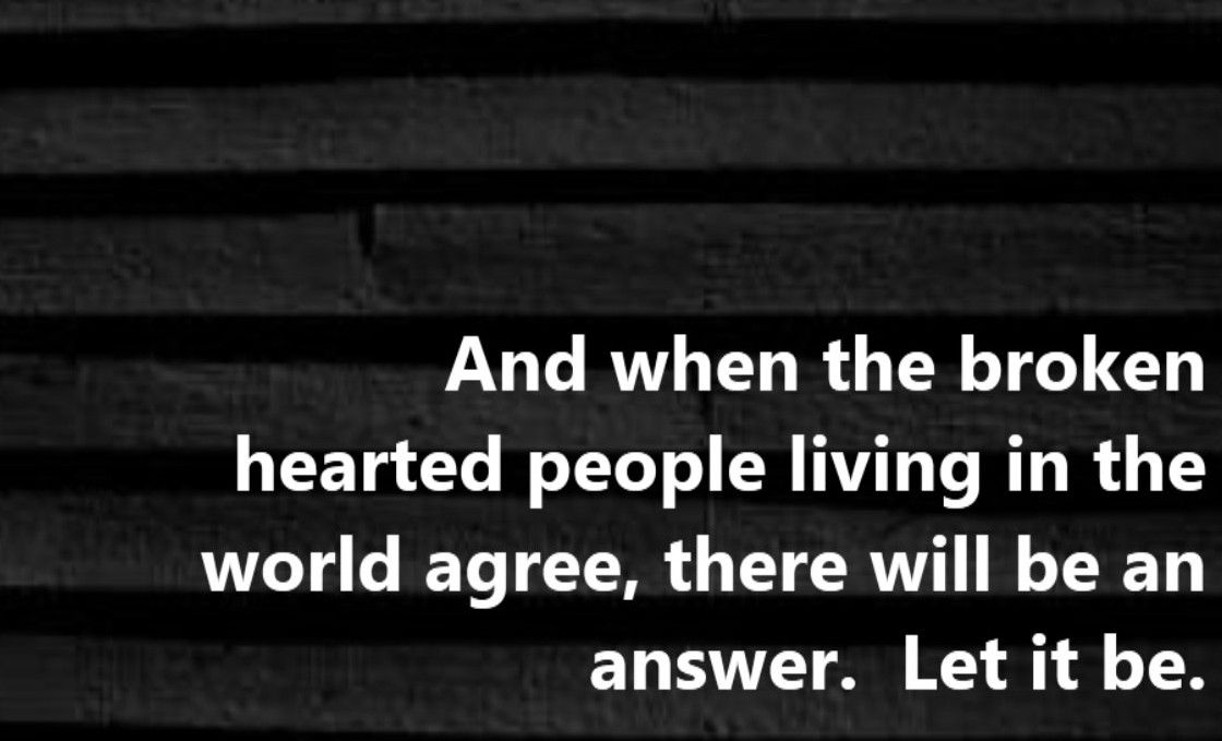Lyric let it be the beatles lyrics : Beatles - Let it Be - song lyrics, song quotes, songs, music ...