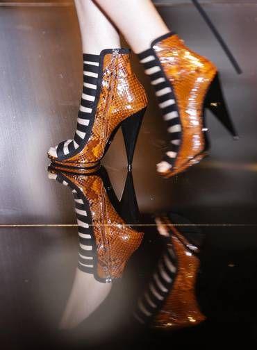 As ankle boots da Gucci têm tudo para ser desejo da estação Foto: MAX ROSSI / REUTERS