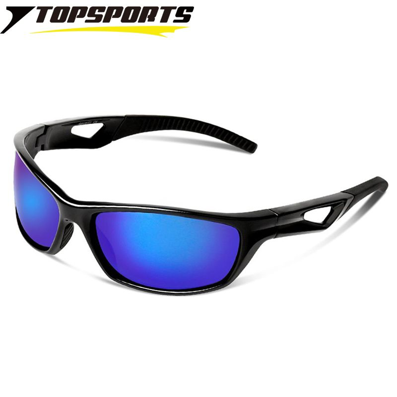 TR90 Polarized Mirrored Sports Sunglasses Men/'s Cycling Riding Fishing Goggles