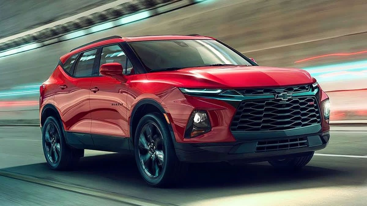 The Chevrolet Blazer Is Back And It S Nothing Like The Blazers
