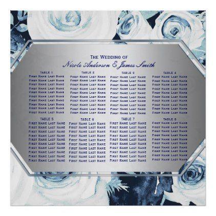 Seating plan wedding diy gifts