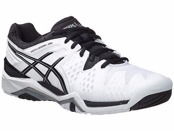 Asics Gel Resolution Resolution 6 Blanc/ Gel Noir/ Argent 19980 | b87267f - newboost.website