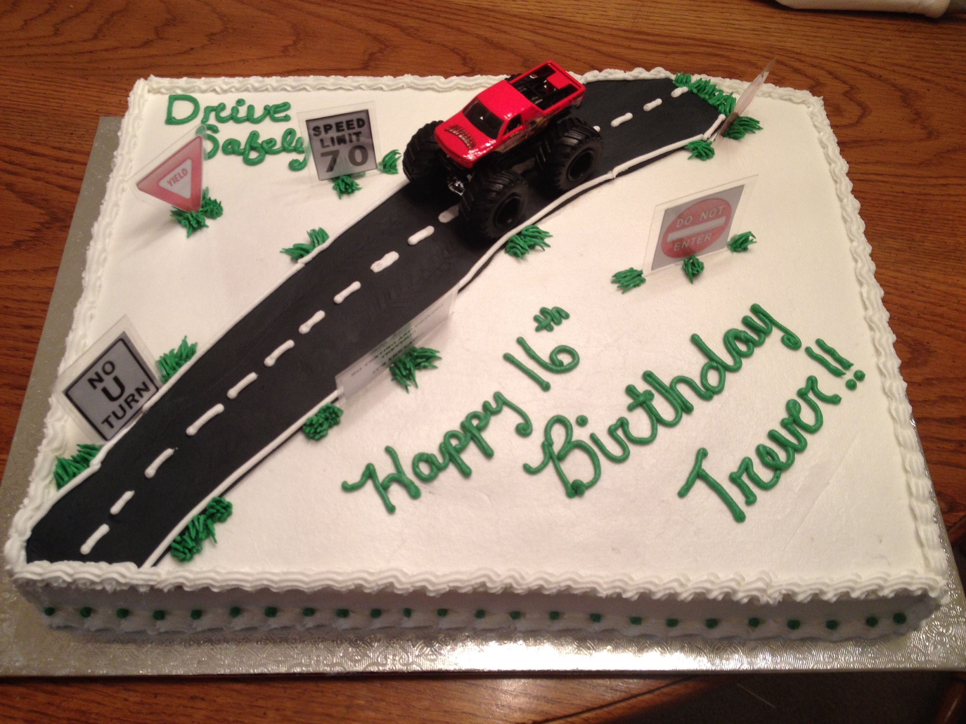 16th birthday cake new driver Cakes Pinterest 16th birthday