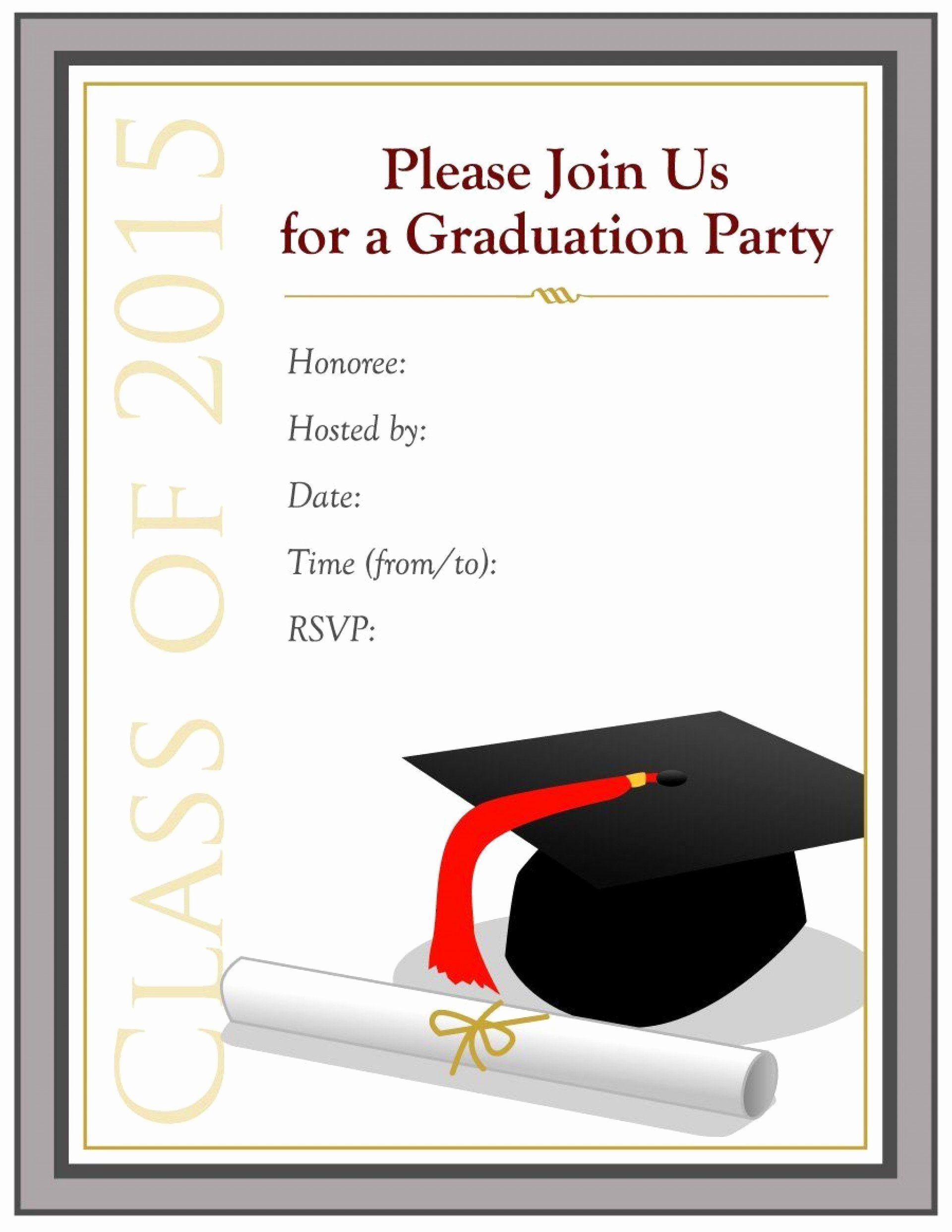 Online Graduation Cards Elegant 002 Graduation Part Graduation Invitations Template Graduation Party Invitations Templates College Graduation Party Invitations