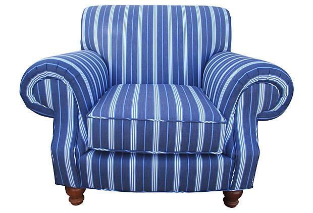 Best Vintage One Of A Kind Oversize Rollback Club Chair Freshly 400 x 300