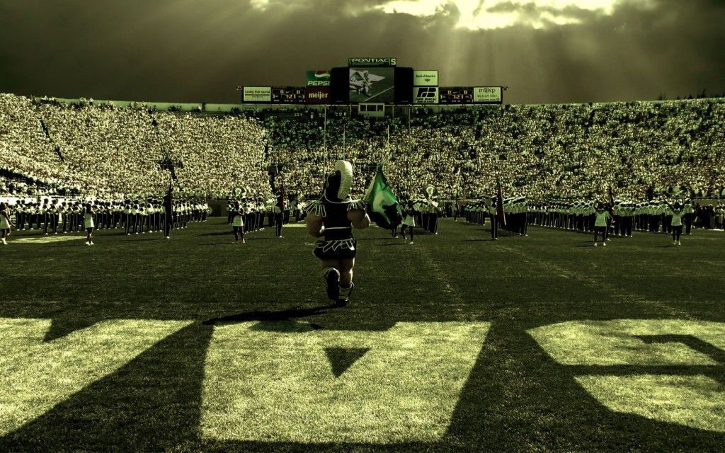 Michigan State University Wallpapers: Michigan State Stadium Wallpaper