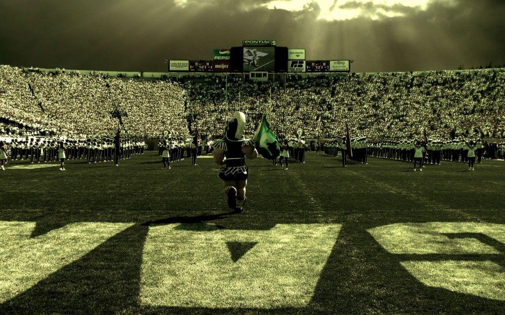 Michigan State Stadium Wallpaper Michigan State Spartans