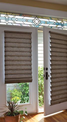 Cellular Shades Window Treatments French Doors