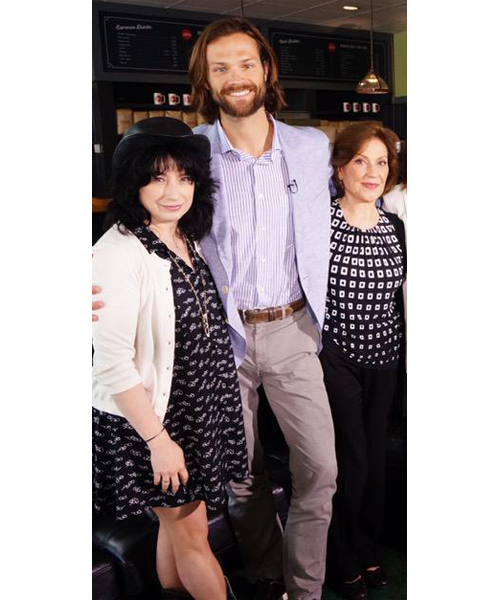 Aww, Jared's out and about again :) He looks beautiful <3 #GilmoreGirlsReunion