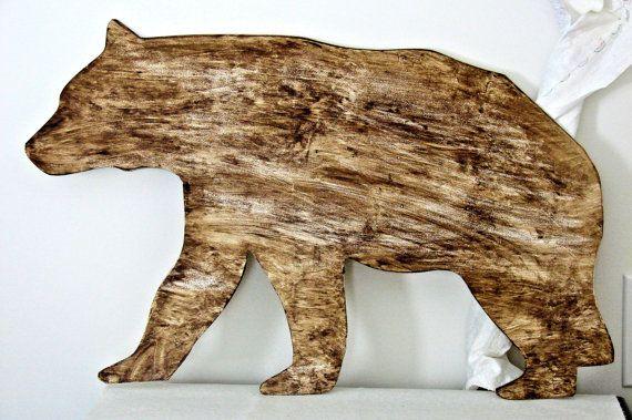 rustic animal cutouts country wildlife home decor cabin decor