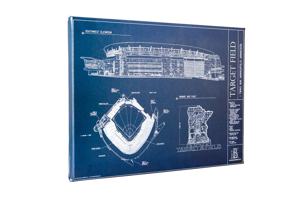 Target field canvas ballpark blueprint wall art sports gifts target field canvas ballpark blueprint wall art sports gifts malvernweather Choice Image