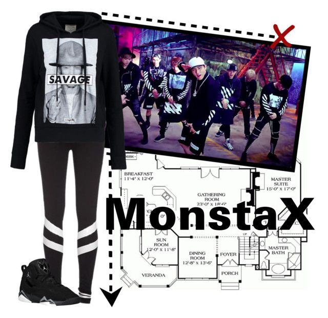 """""""Monsta X~ Trespass"""" by c00kie17 ❤ liked on Polyvore featuring ElevenParis"""