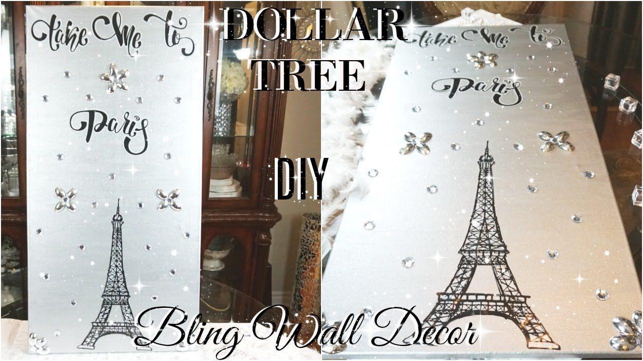 Diy Dollar Tree Bling Wall Decor Art Home Gt