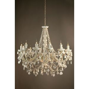 Ruben Acrylic 12 Arm Chandelier In White White Chandelier Acrylic Chandelier White Ceiling Light