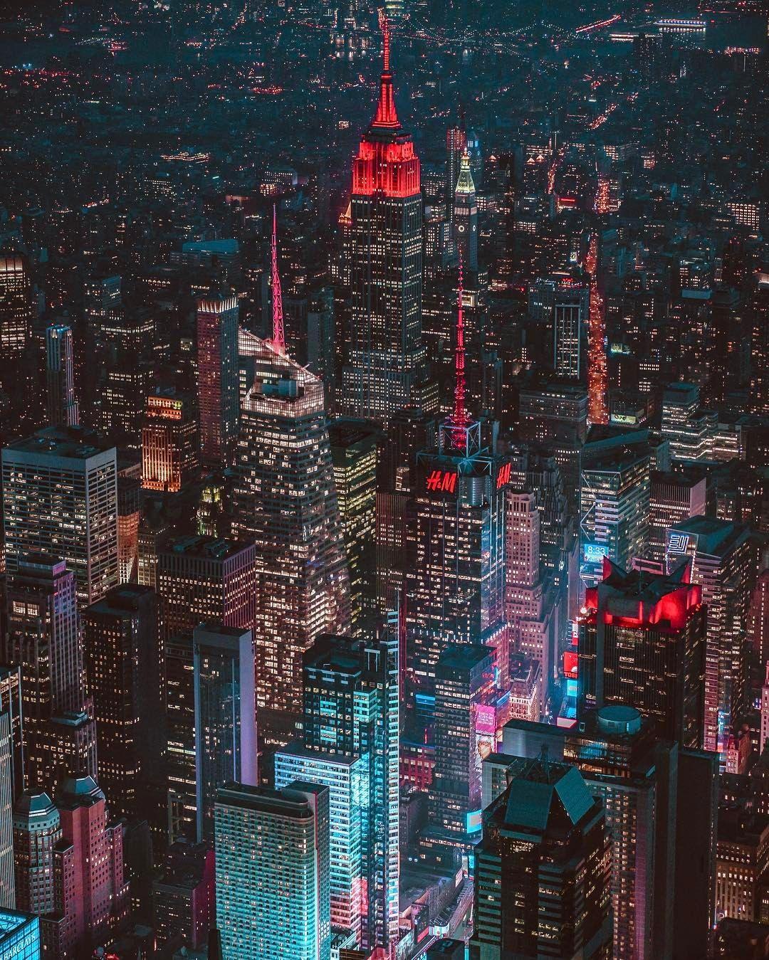 Pinterest Vandanabadlani New York City Images New York Night