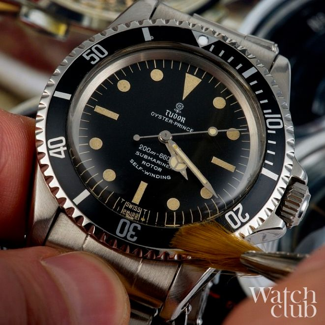 Getting this vintage #Tudor Sub ready for his close up