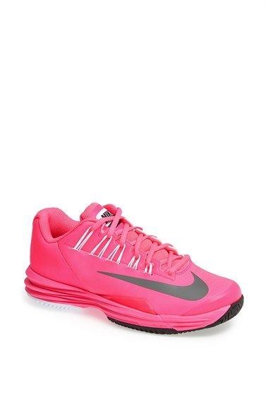 2b34fb55236e ... Nike Lunar Ballistec Tennis Shoe (Women) Pink Flash Grey 8.5 M ...
