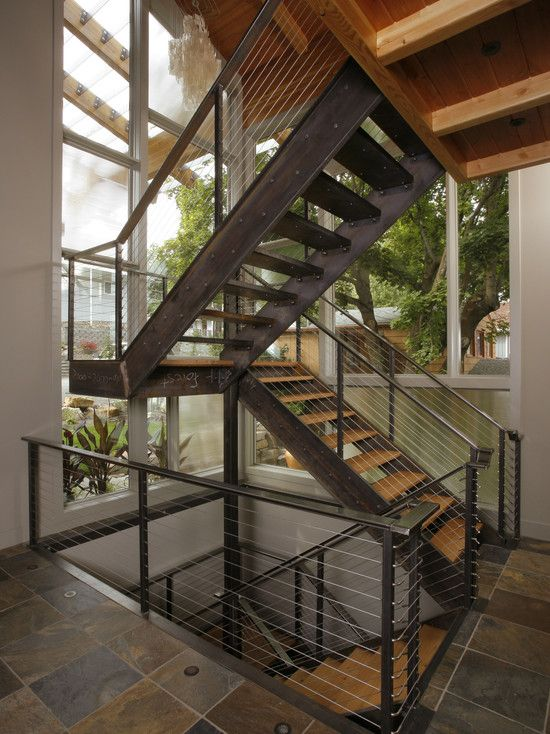 Staircase Eclectic Design, Pictures, Remodel, Decor and Ideas