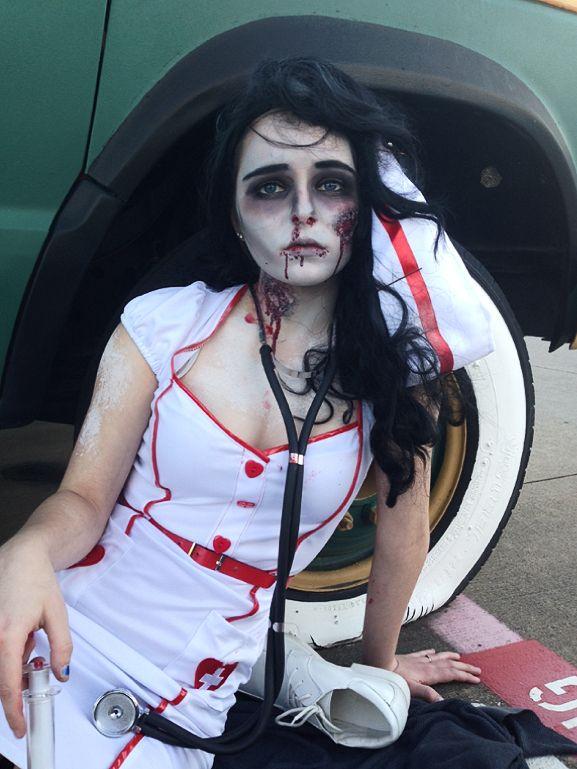 Zombie Nurse Costume, Halloween Costume Ideas, Scary Costumes, Ben ...