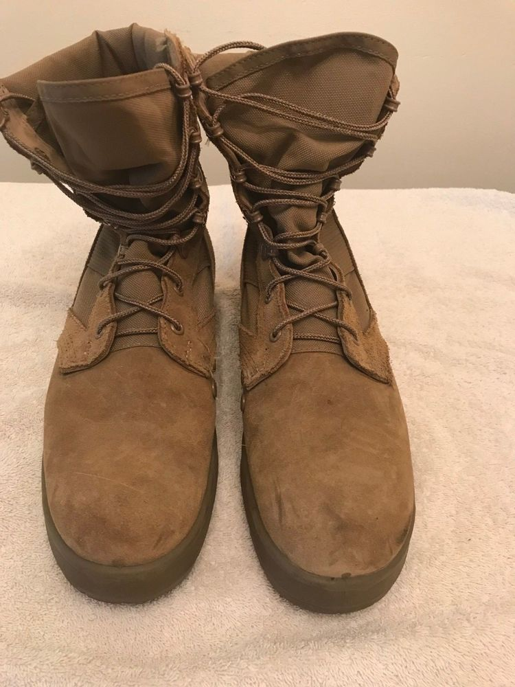 Men S 9 5r Us Army Vibram Hot Weather Coyote Brown Ocp Lace Up Combat Boots Fashion Clothing Shoes Accessories Men Lace Up Combat Boots Combat Boots Boots