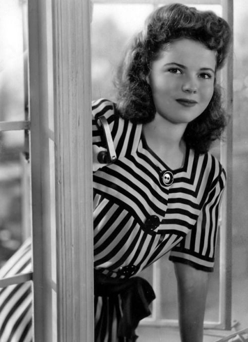 Shirley Temple, 1944.