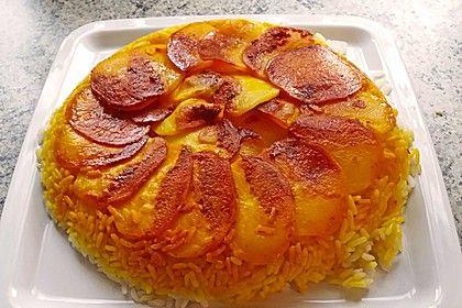 Persischer Reis - Tahdig, ein tolles Rezept aus der Kategorie Reis/Getreide. Bewertungen: 18. Durchschnitt: Ø 4,2.