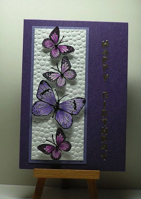 Butterflies  Hi I made this card to enter into a co  Flickr butterfly Purple ButterfliesPurple Butterflies  Hi I made this card to enter into a co  Flickr butterfly Purpl...