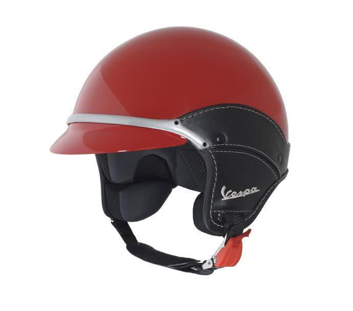 Vespa Helmet Vespa Scooter Merchandising Helmet Red Vespa Helmet Vespa Vintage Scooter Helmet