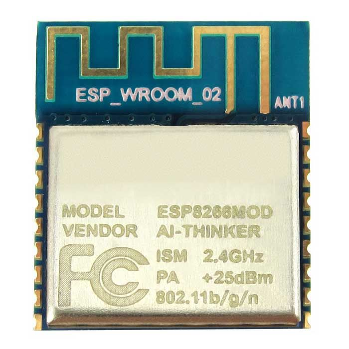 ESP-13 ESP8266 Serial Wi-Fi Wireless Transceiver Module w/ PCB Antenna for Arduino / RPi. ESP-13 is Wi-Fi serial transceiver module, based on ESP8266 SoC. The SOC has Integrated TCP/IP protocol stack. It is TTL serial communication interface and its parameters can be set by AT command. It is widely used in networking, smart home project when it is connected to the Wi-Fi router. It can be used for remote monitoring of home appliances, bedroom temperature and humidity, and controlling home…