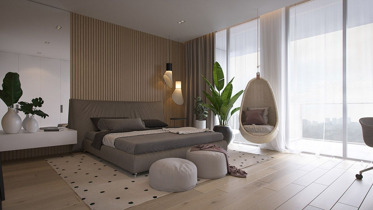 a light bright modern apartment with wood accents architectures rh pinterest com