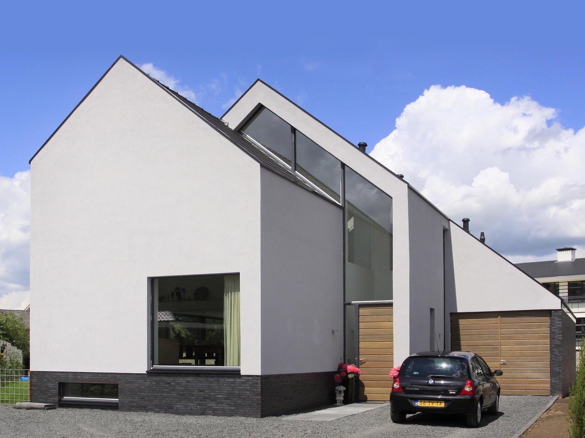 woonhuis lochem casa pinterest moderne h user landh user und architektur. Black Bedroom Furniture Sets. Home Design Ideas