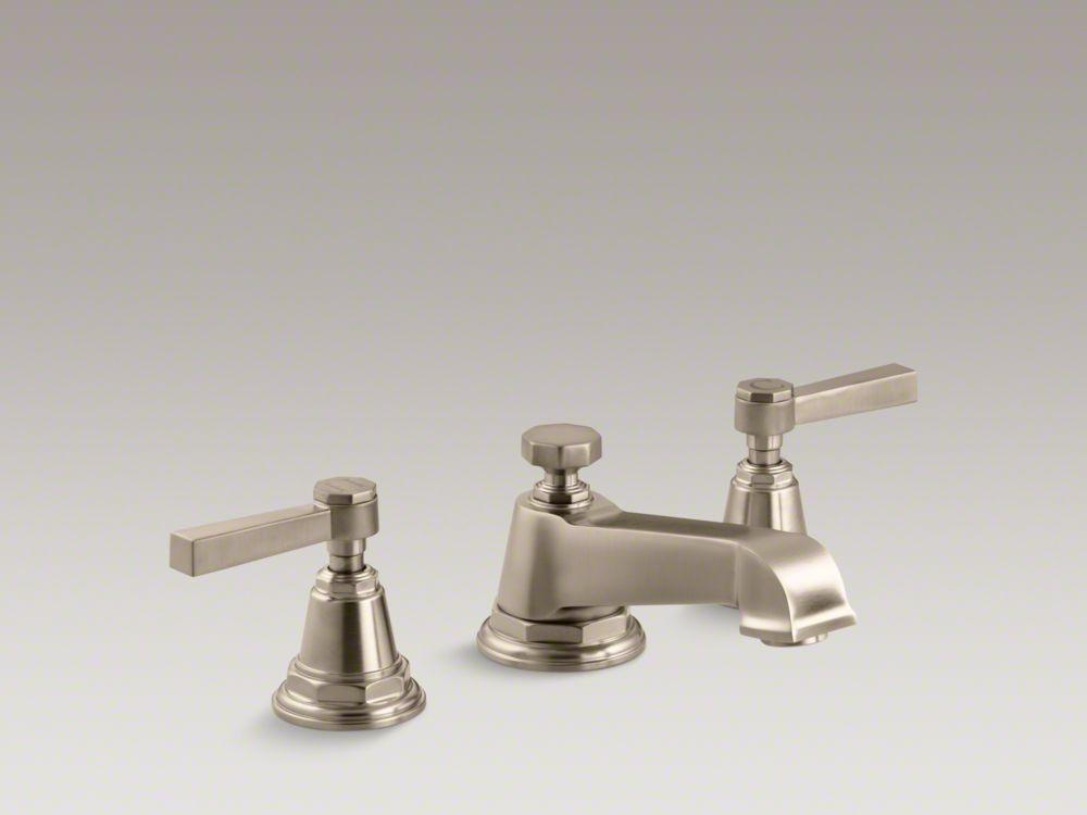 Kohler Pinstripe faucet, Finish: Vibrant Brushed Bronze, $1,135.55 ...