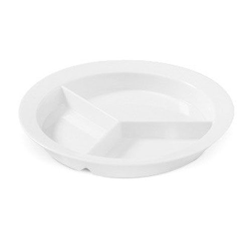 Supermel 9 inch 3 Compartment Plate 1 inch Deep White Polycarbonate/Case of 12 Tags  sc 1 st  Pinterest & Supermel 9 inch 3 Compartment Plate 1 inch Deep White Polycarbonate ...