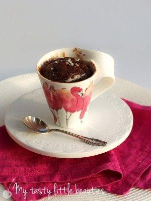 Schoko Nutella Tassenkuchen Backen Im Glas Und In Der Tasse
