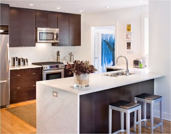Counter Vs Bar Height Centsational Girl Kitchen Trends Kitchen Peninsula Cost Of Kitchen Cabinets