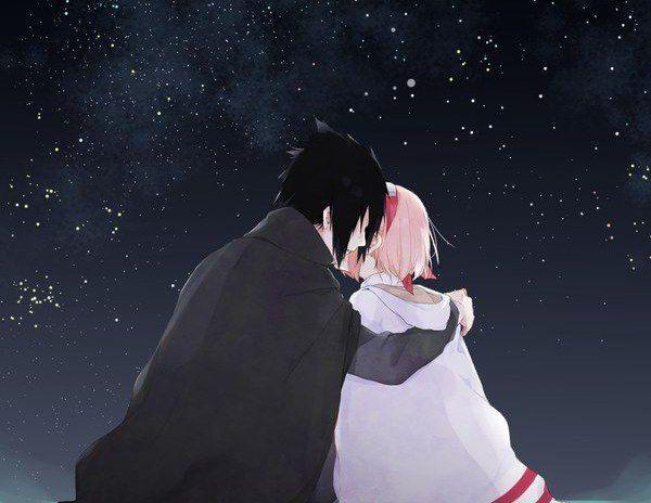 Imagen de anime, couples, and naruto