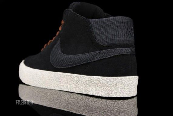 more photos 78fad 2c830 Nike Blazer Mid LR - Black - Anthracite - Field Brown - SneakerNews.com